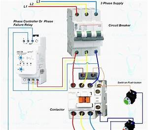 30 Lovely 3 Phase Electric Motor Starter Wiring Diagram