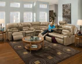 furniture modern sectional couch design with round table