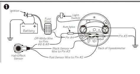 Vdo Tach Wiring Diagram by Vdo Electronic Speedometer Wiring Diagram