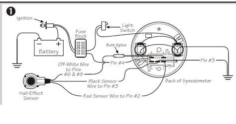 vdo electronic speedometer wiring diagram