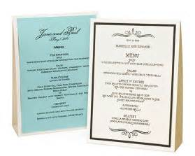 wedding reception menu ideas wedding menu ideas