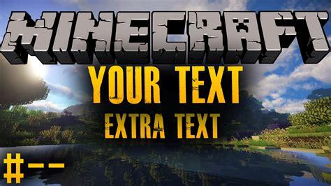 Minecraft Thumbnail Background Thumbnail Template Cyberuse