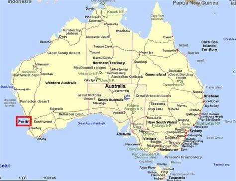 Carte Australie Ville by Australie Carte Villes