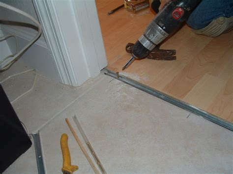 installing laminate transitions step by step