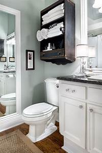 over toilet shelf Over The Toilet Storage Ideas for Extra Space - Hative