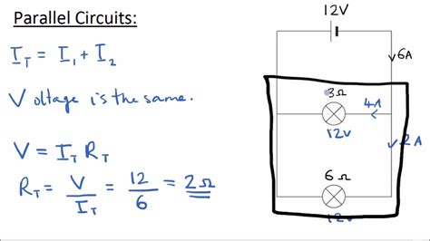 Series Parallel Circuits Gcse Science Physics