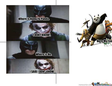 Meme Kung Fu - kung fu panda team by usherjoi1 meme center