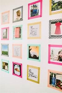 Wandgestaltung Selber Machen : die 25 besten ideen zu fotowand ideen auf pinterest ~ Lizthompson.info Haus und Dekorationen