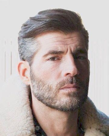 elegant short beard styles  men