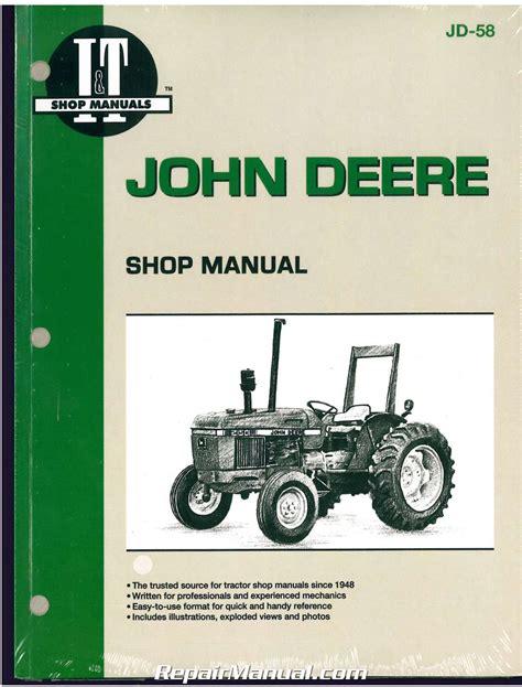 john deere   tractor workshop manual