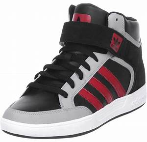 adidas Varial Mid shoes black grey red