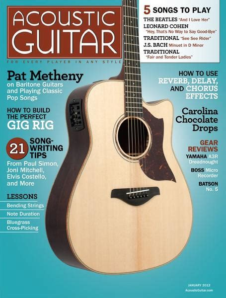no 229 january 2012 acoustic guitar
