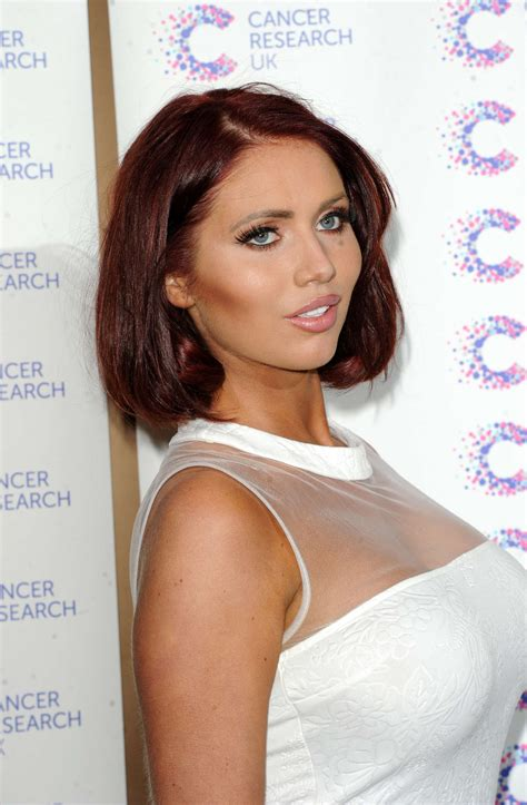 Amy Childs Jog-on To Cancer in London | GotCeleb