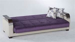Sofa bed design purple sofa beds modern design adjustable for Foam convertible sofa bed