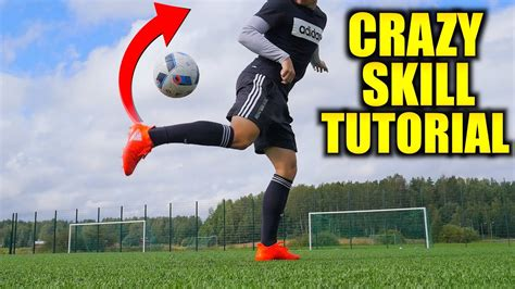 learn crazy football skill advanced rainbow flick