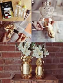 DIY Honey Bear Vase