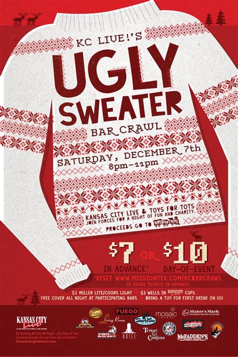 ugly sweater contest flyer template long sweater jacket