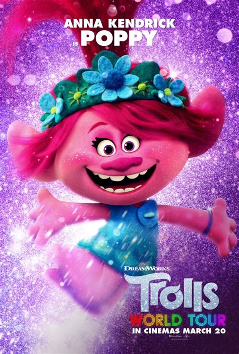 trolls world     trailer  character posters