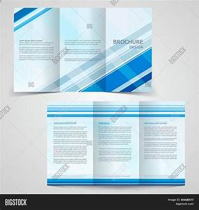 tri fold business brochure template two sided template With 4 sided brochure template