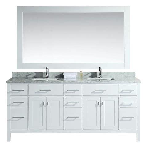 design element 78 in w x 22 in d vanity in