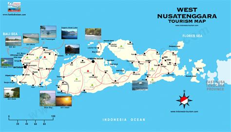 west nusa tenggara map peta nusa tenggara barat