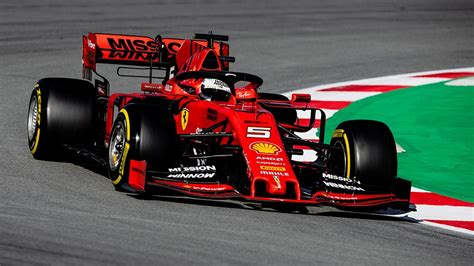 barcelona  test  day  scuderia ferrari