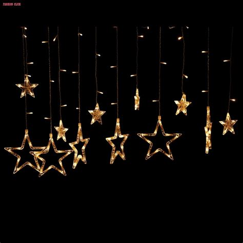 hanging star christmas lights uk plug 138pcs leds waterproof christmas lights outdoor