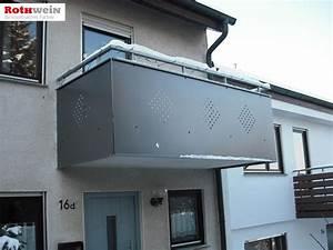 Platten Für Balkonverkleidung : balkongel nder rothwein ~ Frokenaadalensverden.com Haus und Dekorationen