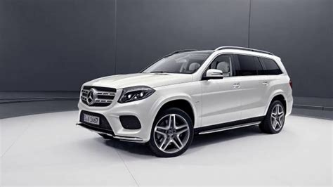Its interior upgrades include ambient lighting, leather dashboard, special wood trim, and premium porcelain/expresso brown leather upholstery with stitched surfaces. VIDEO: 2019 Mercedes Benz GLS Grand Edition turns up the ...