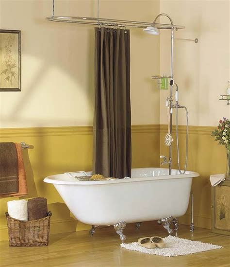 traditional style cast iron clawfoot bathtubs