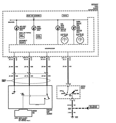 Have Buick Skylark That Put Pass Lock Sensor