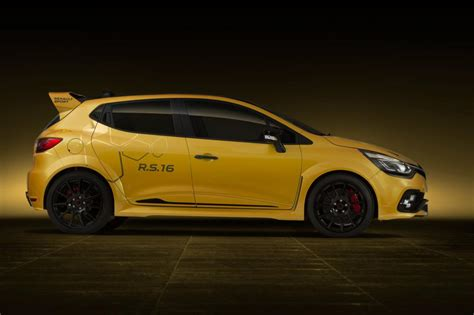 renault clio renaultsport r s 16 official reveal