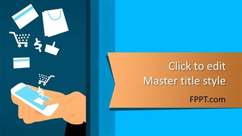 shopping powerpoint template  powerpoint templates