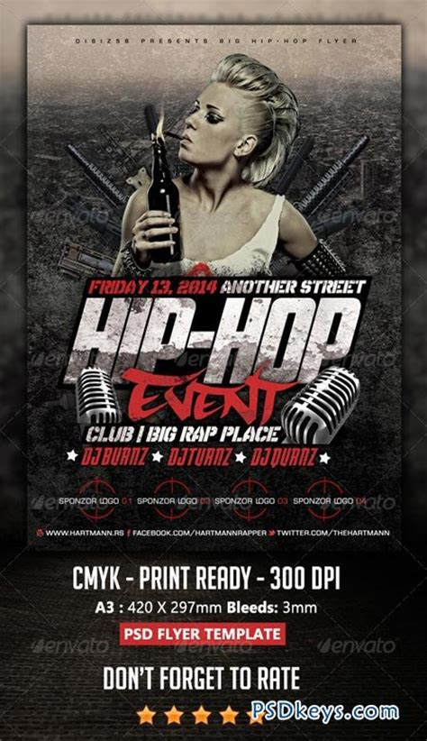 hip hop   photoshop vector stock image