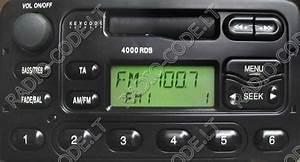 Ford Radio 4000 Rds Code Eingeben