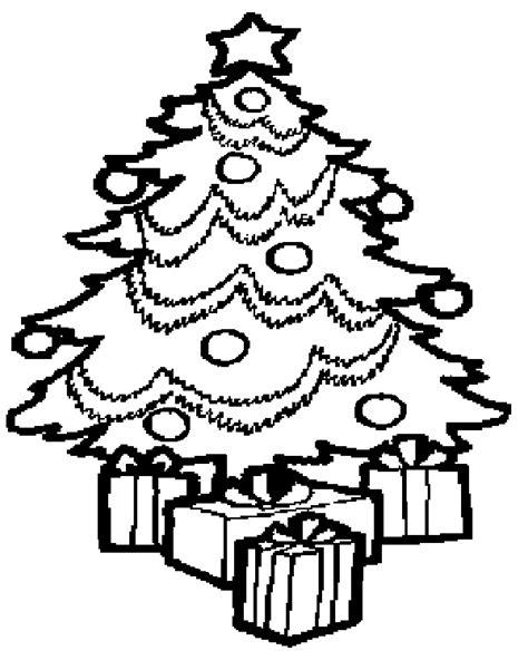 Kleurplaat Kerstboom Met Pakjes by Inkleurplaatjes En Inkleur Posters In Een Plaatje Op Kerst Net