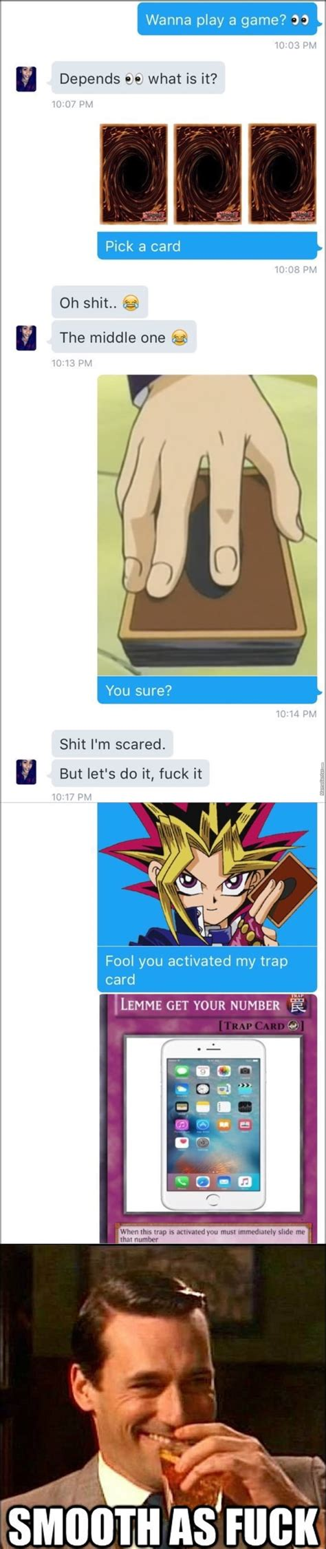 """Последние твиты от you activated my trap card (@traparound). """"fool you just activated my trap card"""" DAMN that was a fast one! - 9GAG"""