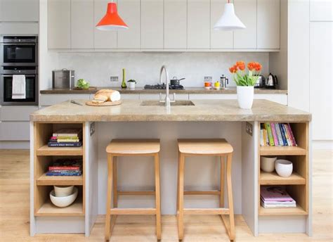 Kitchen Breakfast Bar Storage by Best 25 Kitchen Island With Sink Ideas On
