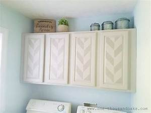 Stencils can update the look of your cabinets for What kind of paint to use on kitchen cabinets for diy stencil wall art