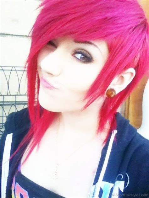 52 Colored Short Emo Hairstyles For Girls Hairstyle In