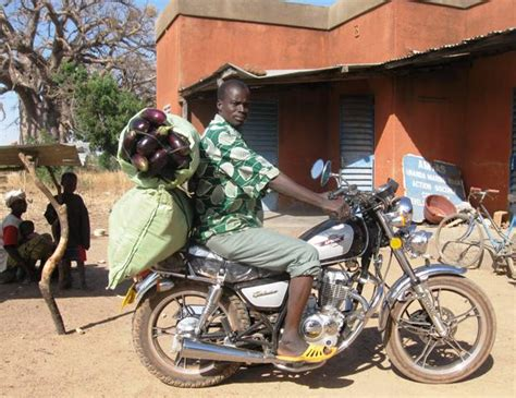 Donate A Motorcycle To Africa