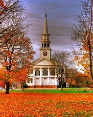 Beautiful New England Church