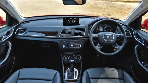 audi q3 interior audi q3 2017 30 tdi premium price mileage reviews