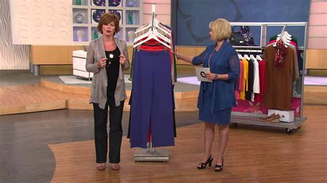 Liz Claiborne New York Regular Ponte Knit Trousers With