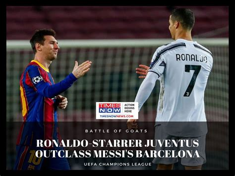 Ronaldo vs Messi UCL Highlights | Cristiano Ronaldo Lionel ...