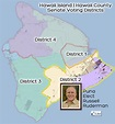 Hawaii Voting Districts Election Map