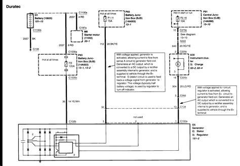 2002 ford escape alternator wiring diagram 42 wiring