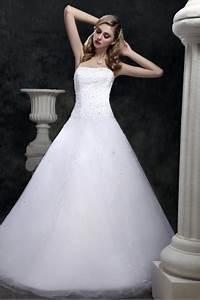 robe de mariee princesse sans bretelle a traine court With robe de mariée hiver avec bijoux en gros