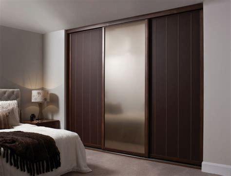 Sliding Wardrobe Closet by Bedroom Fancy Wooden Sliding Door Wardrobe Designs For