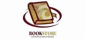 Book logo vector design template for online stores and ...